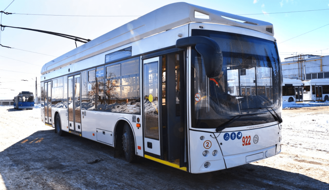 Новые троллейбусы «Горожанин» поступили в Чувашию в полном объеме