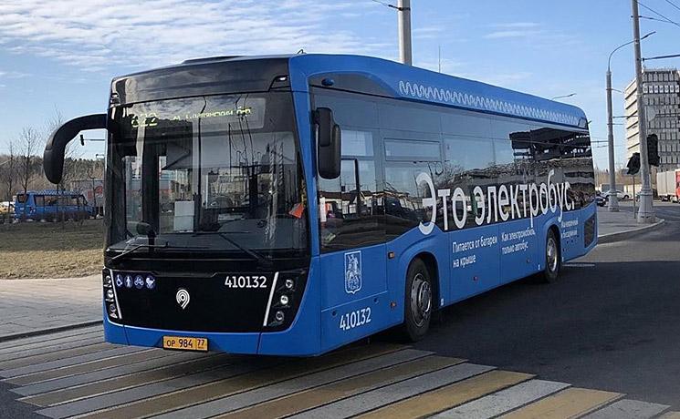 КАМАЗ поставит в Москву крупную партию электробусов