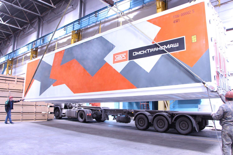 «Омсктрансмаш» начал опытную эксплуатацию рефрижераторных контейнеров