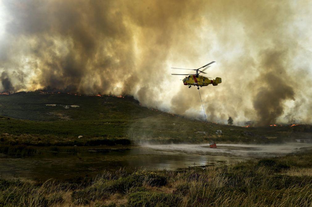С начала года вертолеты Ростеха помогали тушить пожары в 11 странах