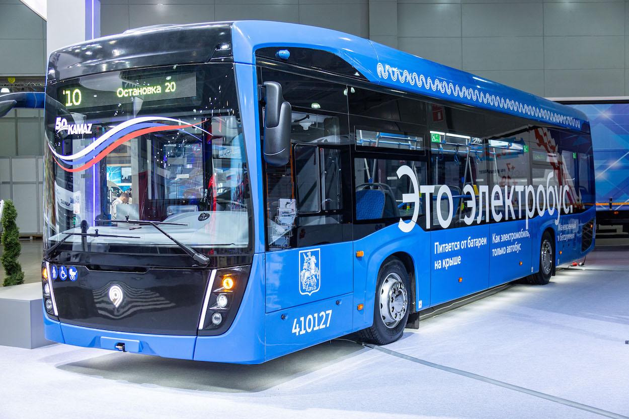Электробус – надежда экологов