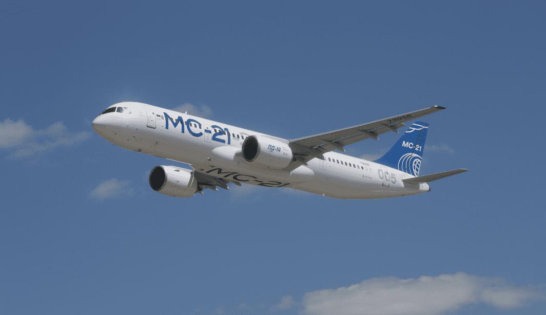 Опытный самолет МС-21-310, оснащенный двигателем ПД-14, прибыл в Жуковский для продолжения испытаний