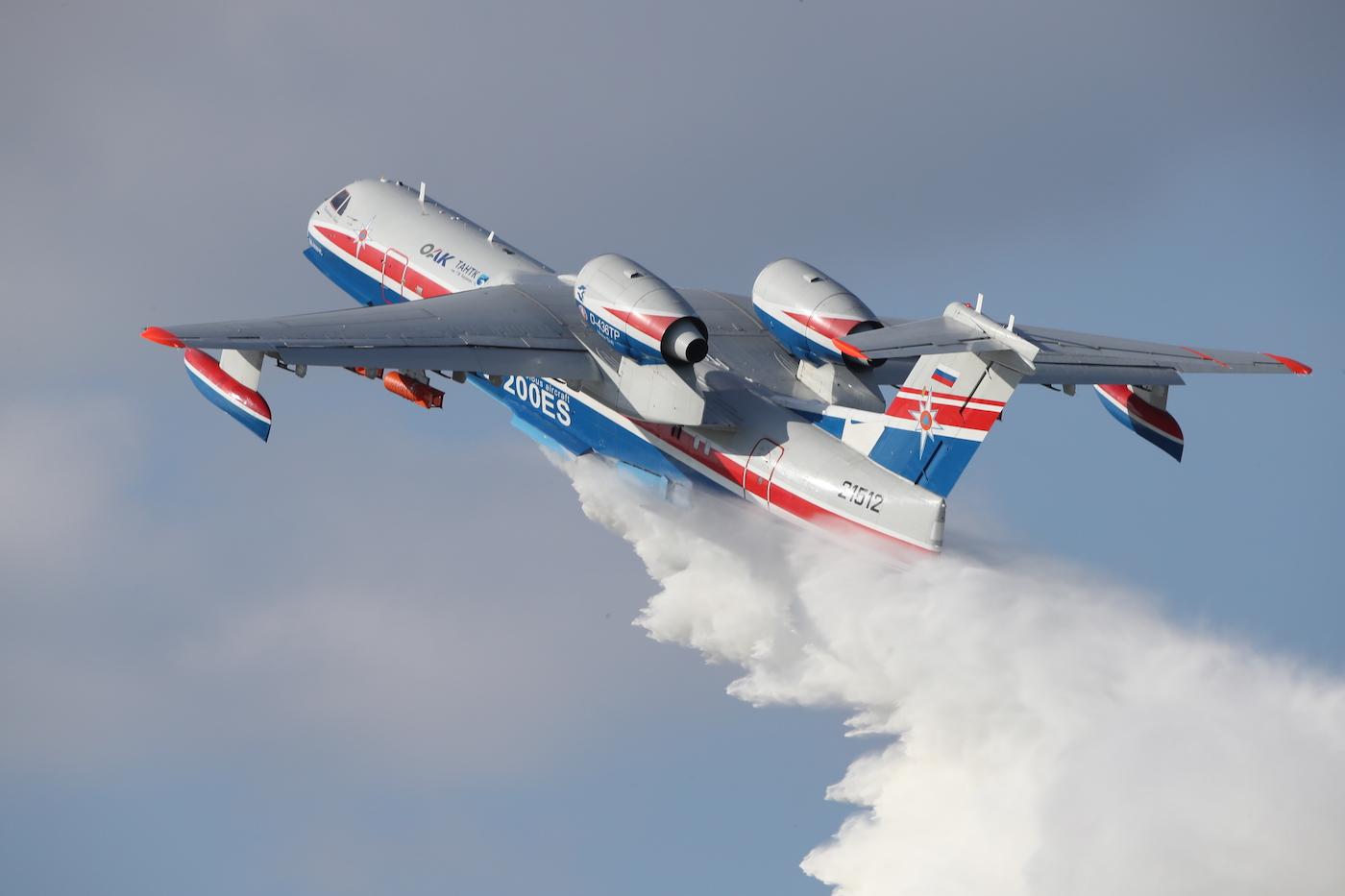 Российский самолет-амфибия будет тушить природные пожары в Греции