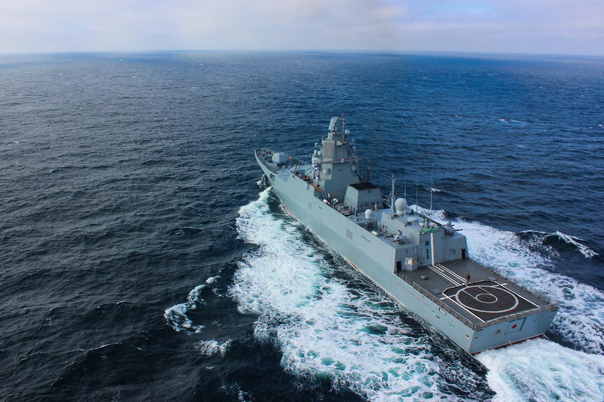 Ростех поставит еще четыре дизель-газотурбинных агрегата для новых фрегатов