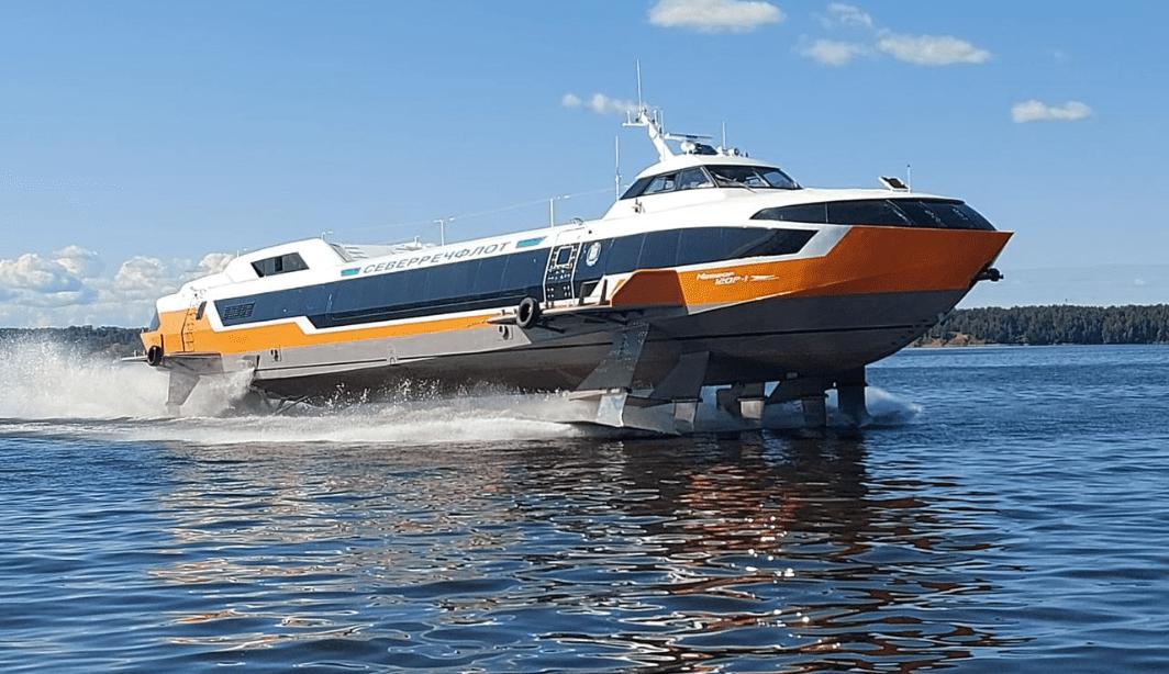 В Нижнем Новгороде спустили на воду «Метеор»