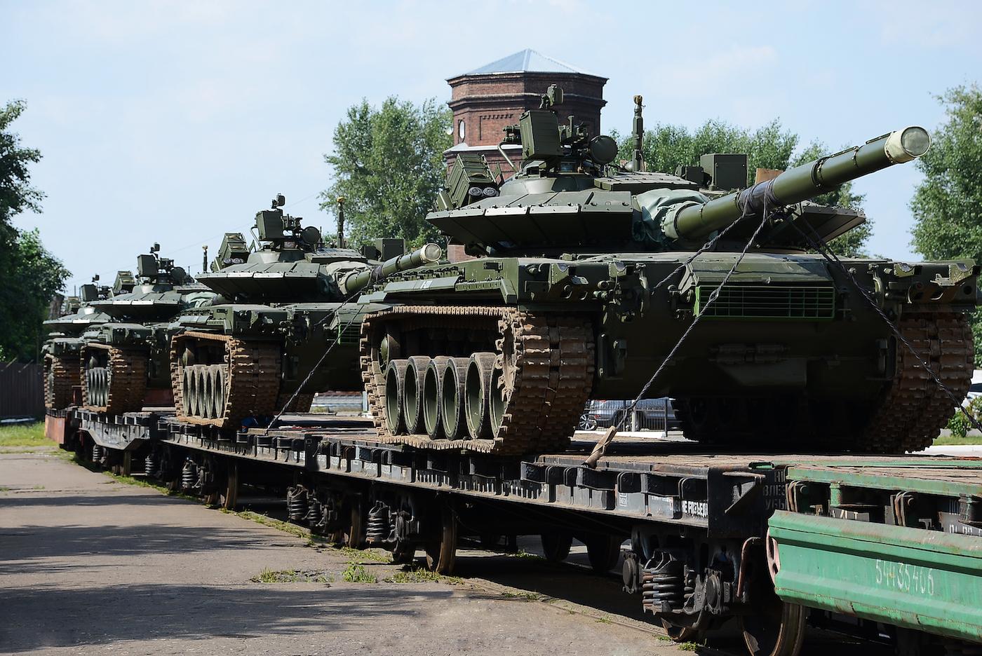 «Омсктрансмаш» отправил в войска первую партию танков Т-80БВМ