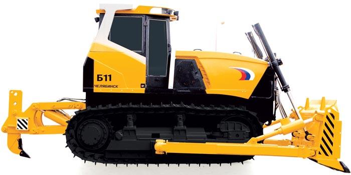 Новый бульдозер ЧТЗ на выставке в Челябинске