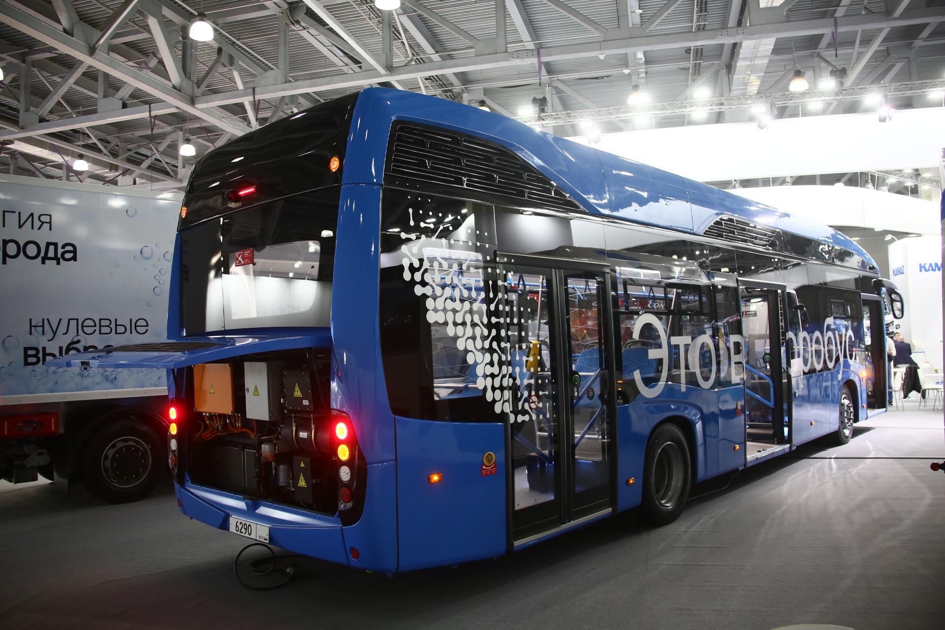 КАМАЗ развивает направление инновационного пассажирского экотранспорта