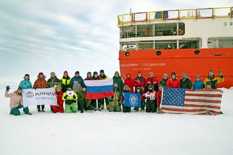 Завершена российско-американская экспедиция NABOS-2021